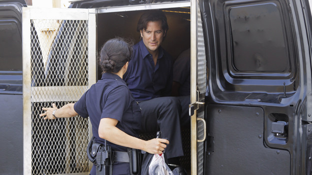 "LOST - ""What They Died For"" - While Locke devises a new strategy, Jack's group searches for Desmond, on ""Lost,"" TUESDAY, MAY 18 (9:00-10:02 p.m., ET) on the ABC Television Network. (ABC/MARIO PEREZ)MICHELLE RODRIGUEZ, HENRY IAN CUSICK"