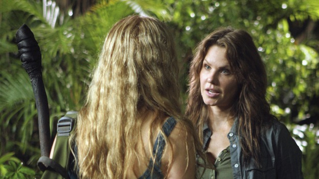 "LOST - ""The Other Woman"" - Juliet receives an unwelcome visit from someone from her past and is given orders to track down Charlotte and Faraday in order to stop them from completing their mission -- by any means necessary. Meanwhile, Ben offers Locke an enticing deal, on ""Lost,"" THURSDAY, MARCH 6 (9:00-10:02 p.m., ET) on the ABC Television Network. (ABC/MARIO PEREZ)ELIZABETH MITCHELL, ANDREA ROTH"
