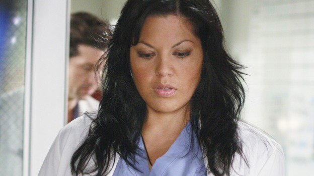 "GREY'S ANATOMY - ""These Ties That Bind"" - Dr. Callie Torres, on ""Grey's Anatomy,"" THURSDAY, NOVEMBER 13 (9:00-10:01 p.m., ET) on the ABC Television Network. (ABC/RON TOM) SARA RAMIREZ"