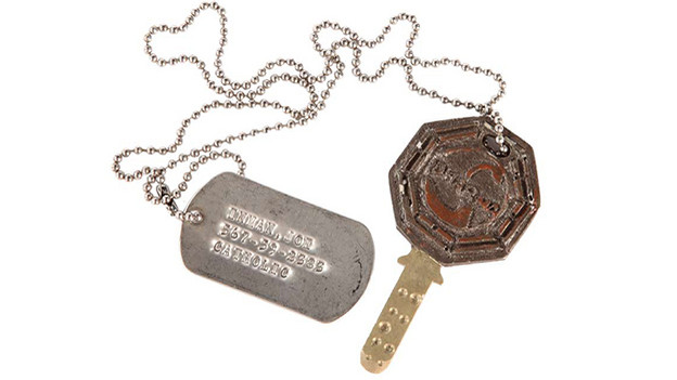 Desmond's fail-safe key with &quot;Joe Inman&quot; dog tag Embossed with the DHARMA Initiative/Swan logo, the fail-safekey is kept by Kelvin Joe Inman until the day of the system failure and the crash of Oceanic Flight 815 when Desmond accidentallykills him and takes the key, which he then hides inside his copy of Charles Dickens' &quot;Our Mutual Friend.&quot; After Lockecauses another system failure by destroying the computer, Desmond retrieves the key and triggers the fail-safe mechanism, finallyterminating the electromagnetic anomaly (and preventing a global catastrophe) and resulting in the destruction of the Swan station.Related content:EPISODE RECAP - &quot;Live Together, Die Alone&quot;PHOTOS - &quot;Live Together, Die Alone&quot;