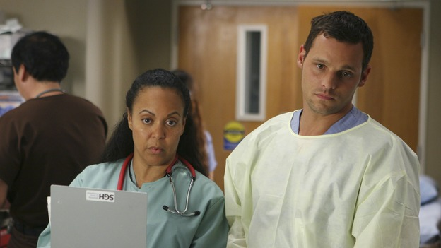 "GREY'S ANATOMY - ""INTO YOU LIKE A TRAIN"" (ABC/MICHAEL DESMOND)?, JUSTIN CHAMBERS"