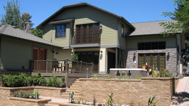 EXTREME MAKEOVER HOME EDITION - &quot;Harrison Family,&quot; - Exterior Patio, on &quot;Extreme Makeover Home Edition,&quot; Sunday, October 9th on the ABC Television Network.