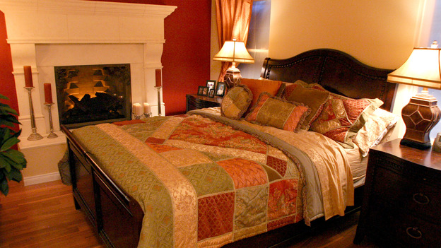 "EXTREME MAKEOVER HOME EDITION - ""Anderson Family,"" - Master Bedroom, on ""Extreme Makeover Home Edition,"" Sunday, January 16th on the ABC Television Network."
