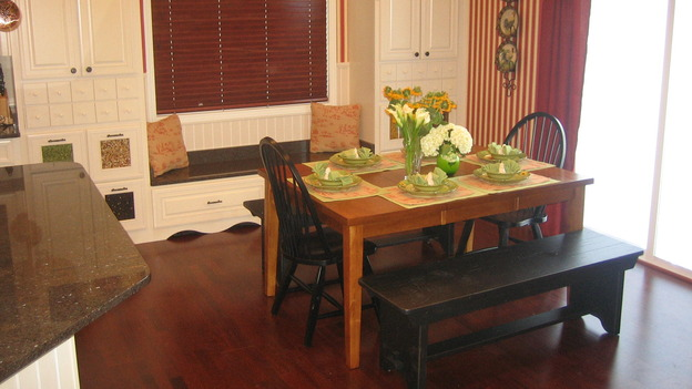 EXTREME MAKEOVER HOME EDITION - &quot;Gilliam Family,&quot; - Dining Room, on &quot;Extreme Makeover Home Edition,&quot; Sunday, October 1st on the ABC Television Network.