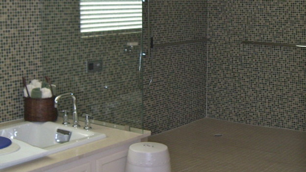 "EXTREME MAKEOVER HOME EDITION - ""Marshall Family,"" - Bathroom, on ""Extreme Makeover Home Edition,"" Sunday, October 18th (8:00-9:00 p.m. ET/PT) on the ABC Television Network."