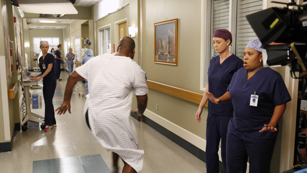 GREY'S ANATOMY - &quot;Beautiful Doom&quot; - In this Meredith &amp; Cristina-centric episode, the two friends continue to cope with life after the plane crash and their ever-growing responsibilities at their respective hospitals. As Meredith juggles taking care of Zola with a case that hits close to home, Cristina assists Dr. Thomas on a challenging heart surgery, on &quot;Grey's Anatomy,&quot; THURSDAY, NOVEMBER 8 (9:00-10:02 p.m., ET) on the ABC Television Network. (ABC/KELSEY MCNEAL)ELLEN POMPEO, CHANDRA WILSON