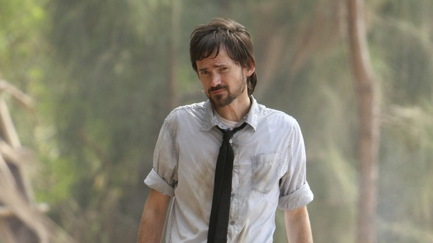 "LOST - ""Cabin Fever"" - Locke is enlightened as to the whereabouts of Jacob's cabin, and life aboard the freighter becomes perilous, on ""Lost,"" THURSDAY, MAY 8 (10:02-11:00 p.m., ET) on the ABC Television Network. (ABC/MARIO PEREZ)JEREMY DAVIES"