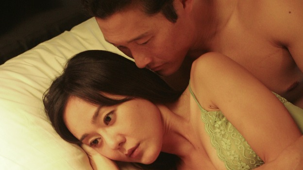LOST - &quot;The Whole Truth&quot; (ABC/MARIO PEREZ)YUNJIN KIM, DANIEL DAE KIM