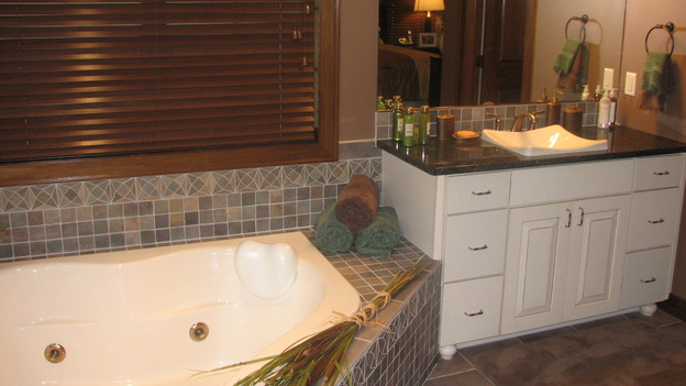 EXTREME MAKEOVER HOME EDITION - &quot;Thibodeau Family,&quot; - Bathroom, on &quot;Extreme Makeover Home Edition,&quot; Sunday, November 5th on the ABC Television Network.