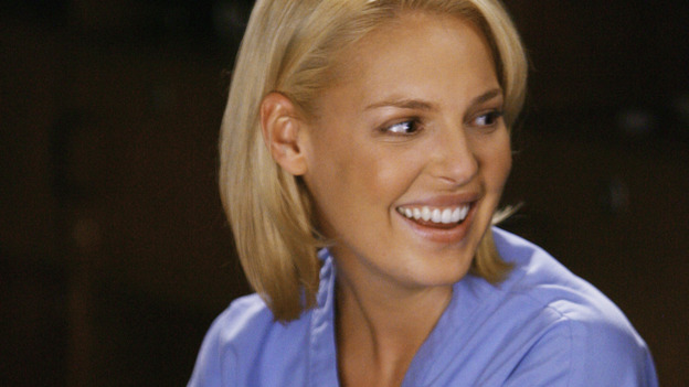 "GREY'S ANATOMY - ""Rise Up"" - Dr. Izzie Stevens, on ""Grey's Anatomy,"" THURSDAY, NOVEMBER 6 (9:00-10:01 p.m., ET) on the ABC Television Network. (ABC/SCOTT GARFIELD) KATHERINE HEIGL"