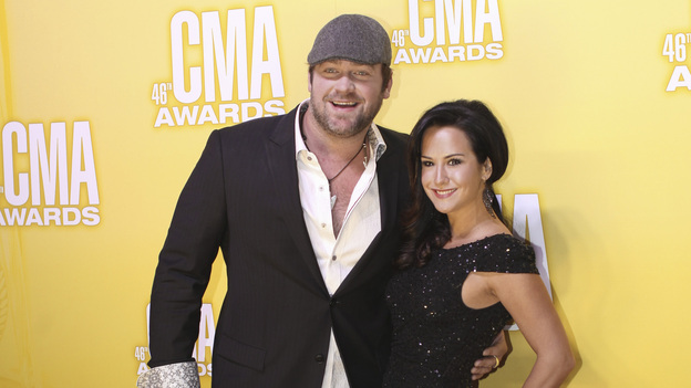 "THE 46TH ANNUAL CMA AWARDS - RED CARPET ARRIVALS - ""The 46th Annual CMA Awards"" airs live THURSDAY, NOVEMBER 1 (8:00-11:00 p.m., ET) on ABC live from the Bridgestone Arena in Nashville, Tennessee. (ABC/SARA KAUSS)LEE BRICE"