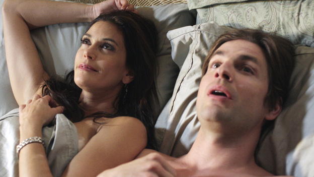 "DESPERATE HOUSEWIVES - ""You're Gonna Love Tomorrow"" - Susan basking in the afterglow with her new man toy, Jackson."