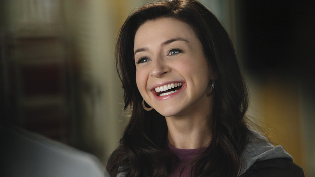 "GREY'S ANATOMY - ""Superfreak"" - When Derek receives an unexpected and unwelcome visit from his estranged sister, Amelia, issues between the siblings -- both past and present -- come to the surface; the Chief tries to help Alex when he notices that he's refusing to use the elevators after his near-fatal shooting; and Meredith and Derek continue their efforts to ease Cristina back into surgery after her post-traumatic stress, on ""Grey's Anatomy,"" THURSDAY, OCTOBER 7 (9:00-10:01 p.m., ET) on the ABC Television Network. (ABC/RICHARD CARTWRIGHT)CATERINA SCORSONE"