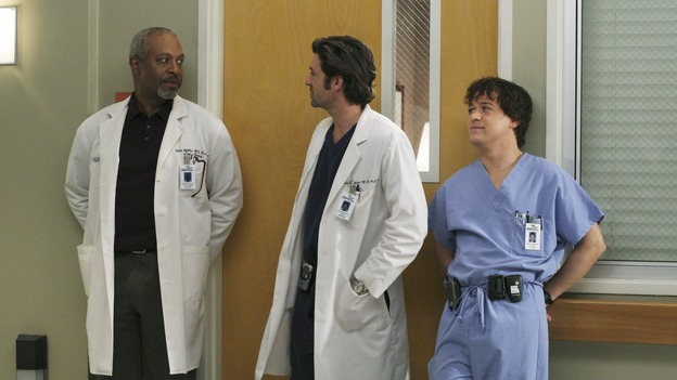 GREY'S ANATOMY - &quot;It's the End of the World (As We Know It)&quot;(ABC/KAREN NEAL)JAMES PICKENS, JR.,  PATRICK DEMPSEY, T.R. KNIGHT