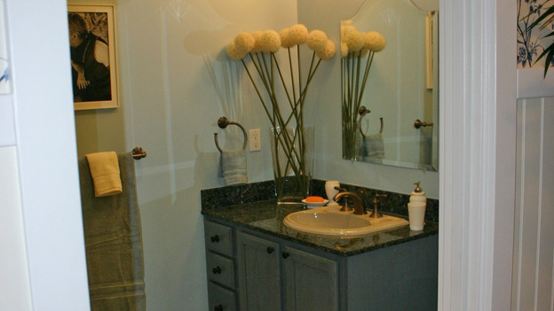 "EXTREME MAKEOVER HOME EDITION - ""Ripatti Family,"" - Bathroom, on ""Extreme Makeover Home Edition,"" Sunday, December 10th on the ABC Television Network."