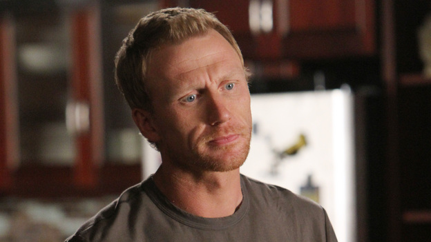 "GREY'S ANATOMY - ""Support System"" - A devastated Cristina presses Owen to confess the intimate details of his affair; Mark takes his new authority very seriously when he steps in as chief for the day and butts heads with Richard over a patient's liver transplant; and Callie deems Meredith ready for the boards, while the rest of the residents continue to stress about the exam. Meanwhile, Callie, Arizona and Bailey plan a much needed ladies night for Teddy, on ""Grey's Anatomy,"" THURSDAY, APRIL 12 (10:01-11:00 p.m., ET) on the ABC Television Network. (ABC/ADAM LARKEY)KEVIN MCKIDD"