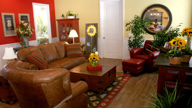 EXTREME MAKEOVER HOME EDITION - &quot;Elcano Family,&quot; - Living Room, on &quot;Extreme Makeover Home Edition,&quot; Sunday, November 21st on the ABC Television Network.