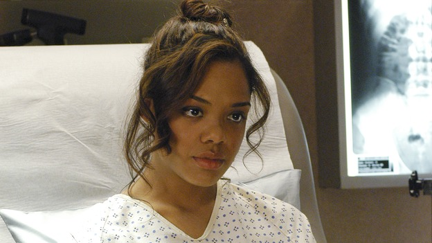 "GREY'S ANATOMY - In the first hour of part two of the season finale of ABC's ""Grey's Anatomy"" -- ""Deterioration of the Fight or Flight Response"" -- Izzie and George attend to Denny as the pressure increases to find him a new heart, Cristina suddenly finds herself in charge of an ER, and Derek grapples with the realization that the life of a friend is in his hands. In the second hour, ""Losing My Religion,"" Richard goes into interrogation mode about a patient's condition, Callie confronts George about his feelings for her, and Meredith and Derek meet about Doc. Part two of the season finale of ""Grey's Anatomy"" airs MONDAY, MAY 15 (9:00-11:00 p.m., ET) on the ABC Television Network. (ABC/GALE ADLER)TESSA THOMPSON"