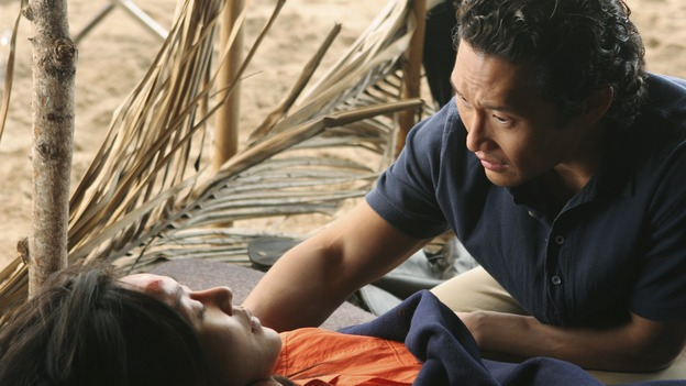 "LOST - ""The Long Con"" - (ABC/MARIO PEREZ)YUNJIN KIM, DANIEL DAE KIM"