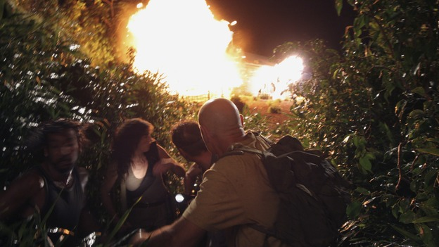 "LOST - ""Enter 77"" - Locke, Sayid and Kate investigate a strange structure and its mysterious inhabitant. Meanwhile, Sawyer competes in a ping-pong competition to get back his belongings, on ""Lost,"" WEDNESDAY, MARCH 7 (10:00-11:00 p.m., ET), on the ABC Television Network. (ABC/MARIO PEREZ)NAVEEN ANDREWS, MIRA FURLAN, ANDREW DIVOFF, TERRY O'QUINN"