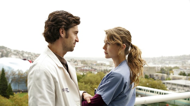 GREY'S ANATOMY - &quot;Thanks for the Memories&quot; (ABC/CRAIG SJODIN)PATRICK DEMPSEY, ELLEN POMPEO