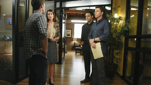"PRIVATE PRACTICE - ""Homeward Bound"" - As Addison and Kevin struggle in their relationship, she finds herself attracted to Wyatt, the cocky doctor from rival Pacific Wellcare, while Violet seeks a way to carry on relationships with both Pete and Sheldon, and Cooper grows closer to Charlotte when she experiences a family emergency, on ""Private Practice,"" THURSDAY, JANUARY 15 (10:01-11:00 p.m., ET) on the ABC Television Network. (ABC/RICHARD CARTWRIGHT)MATTHEW JOHN ARMSTRONG, KATE WALSH, PAUL ADELSTEIN, TIM DALY"