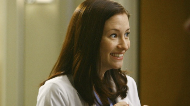 "GREY'S ANATOMY - ""Rise Up"" - Lexie gets excited, on ""Grey's Anatomy,"" THURSDAY, NOVEMBER 6 (9:00-10:01 p.m., ET) on the ABC Television Network. (ABC/SCOTT GARFIELD) CHYLER LEIGH"