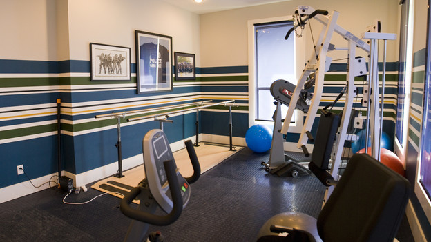 EXTREME MAKEOVER HOME EDITION - &quot;Marshall Family,&quot; - Workout Room, on &quot;Extreme Makeover Home Edition,&quot; Sunday, October 18th (8:00-9:00 p.m. ET/PT) on the ABC Television Network.
