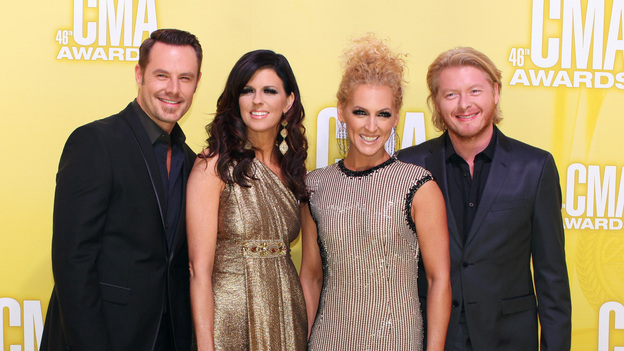 THE 46TH ANNUAL CMA AWARDS - RED CARPET ARRIVALS - &quot;The 46th Annual CMA Awards&quot; airs live THURSDAY, NOVEMBER 1 (8:00-11:00 p.m., ET) on ABC live from the Bridgestone Arena in Nashville, Tennessee. (ABC/SARA KAUSS)LITTLE BIG TOWN