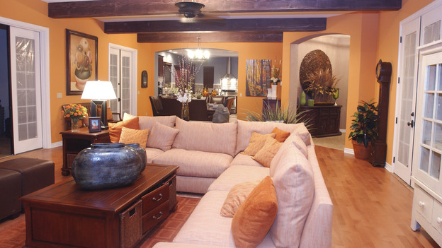 "EXTREME MAKEOVER HOME EDITION - ""Okvath Family,"" - Living Room, on ""Extreme Makeover Home Edition,"" Sunday, May 13th on the ABC Television Network."
