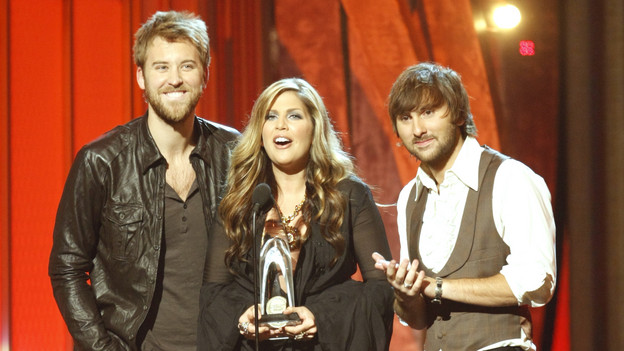 THE 42ND ANNUAL CMA AWARDS - THEATRE - &quot;The 42nd Annual CMA Awards&quot; aired live from the Sommet Center in Nashville, WEDNESDAY, NOVEMBER 12 (8:00-11:00 p.m., ET) on the ABC Television Network. (ABC/CHRIS HOLLO)LADY ANTEBELLUM