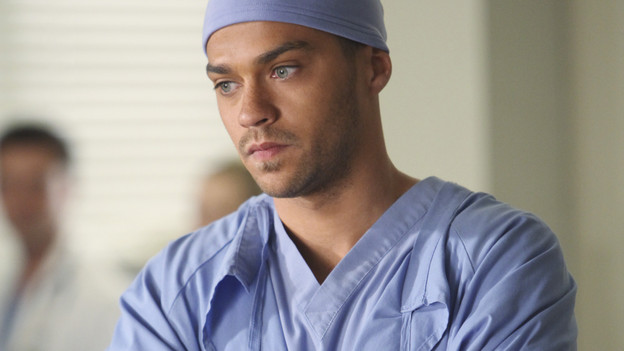 GREY'S ANATOMY - &quot;How Insensitive&quot; - Bailey preps the team with a mandatory sensitivity training prior to admitting a 700-pound patient with compounded medical issues, and the case proves to be challenging in every sense of the word. Meanwhile Derek has to come face to face with a former patient's husband in a wrongful death deposition, and spending time with a heart patient's daughter opens up some old wounds for Cristina, on &quot;Grey's Anatomy,&quot; THURSDAY, MAY 6 (9:00-10:01 p.m., ET) on the ABC Television Network. (ABC/ADAM LARKEY) JESSE WILLIAMS