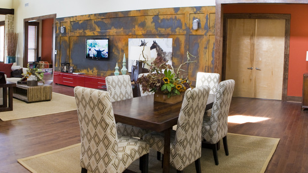 EXTREME MAKEOVER HOME EDITION - &quot;Marshall Family,&quot; - Dining Room, on &quot;Extreme Makeover Home Edition,&quot; Sunday, October 18th (8:00-9:00 p.m. ET/PT) on the ABC Television Network.