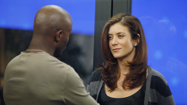 "PRIVATE PRACTICE - ""Too Much"" - Sam finds his estranged sister, Corinne, in jail, heavily medicated and near-catatonic, and brings her to Sheldon for help; Erica begins secret treatments for her cancer and refuses to let Cooper and Charlotte tell Mason; Cooper, Pete and Addison treat the baby of a drug addict; and things between Violet and Scott continue to heat up in the bedroom, ""on ABC's ""Private Practice"" THURSDAY, FEBRUARY 9 (10:02-11:00 p.m., ET) on the ABC Television Network. (ABC/VIVIAN ZINK)TAYE DIGGS, KATE WALSH"