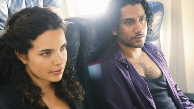 "LOST - ""316"" - When the mysterious bounty hunter Ilana captures Sayid, he's unwittingly reunited with most of the Oceanic 6 aboard Ajira Flight 316, on ""Lost,"" WEDNESDAY, FEBRUARY 18 on the ABC Television Network. ZULEIKHA ROBINSON, NAVEEN ANDREWS"
