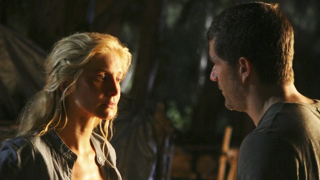 "LOST - ""There's No Place Like Home,"" Part 1 - The face-off between the survivors and the freighter people begins, on ""Lost,"" THURSDAY, MAY 15 (10:02-11:00 p.m., ET) on the ABC Television Network.  (ABC/MARIO PEREZ)ELIZABETH MITCHELL, MATTHEW FOX"