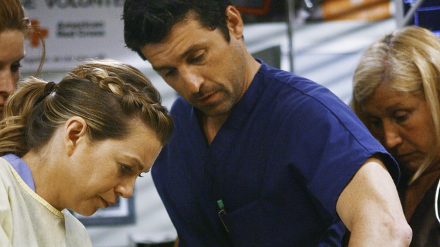 GREY'S ANATOMY - &quot;Now or Never&quot; - Drs. Meredith Grey and Derek Shepherd work on patient &quot;John&nbsp;Doe,&quot; on &quot;Grey's Anatomy,&quot; THURSDAY, MAY 14 (9:00-11:00 p.m., ET) on the ABC Television Network. ELLEN POMPEO, PATRICK DEMPSEY