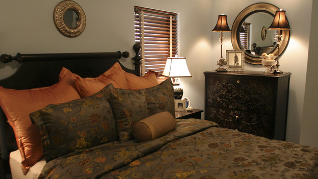 "EXTREME MAKEOVER HOME EDITION - ""Mackey Family,"" - Master Bedroom, on ""Extreme Makeover Home Edition,"" Sunday, October 17th on the ABC Television Network."