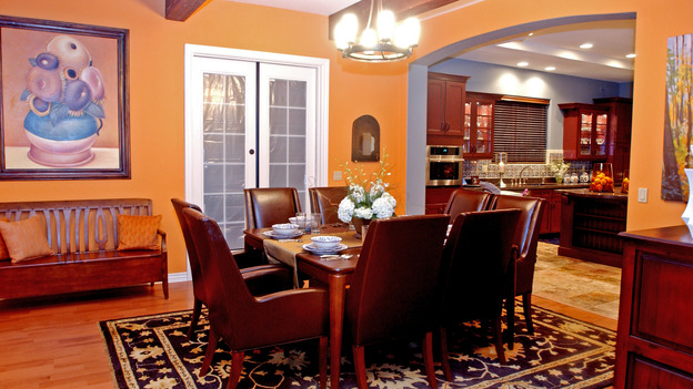 EXTREME MAKEOVER HOME EDITION - &quot;Okvath Family,&quot; - Dining Room, on &quot;Extreme Makeover Home Edition,&quot; Sunday, May 13th on the ABC Television Network.