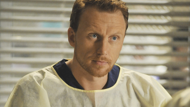 "GREY'S ANATOMY - ""Life During Wartime"" - Dr. Owen Hunt, the new chief of trauma at Seattle Grace, on ""Grey's Anatomy,"" THURSDAY, OCTOBER 30 (9:00-10:01 p.m., ET) on the ABC Television Network. (ABC/ERIC MCCANDLESS) KEVIN MCKIDD"
