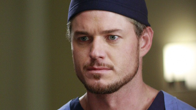 "GREY'S ANATOMY - ""Dream a Little Dream of Me"" - On the two-hour season premiere of ""Grey's Anatomy,"" Meredith and Derek learn that ""happily ever after"" isn't easy, a military doctor who brings in a trauma patient catches Cristina's eye, and the Chief and his staff reel at the news that Seattle Grace is no longer nationally ranked as a top-tier teaching hospital, on ""Grey's Anatomy,"" THURSDAY, SEPTEMBER 25 (9:00-11:00 p.m., ET) on the ABC Television Network. (ABC/RON TOM)ERIC DANE"