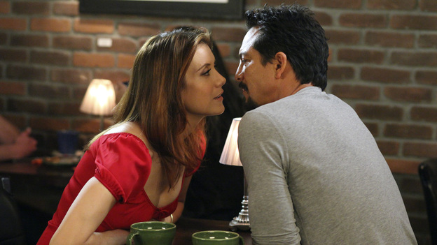 PRIVATE PRACTICE - &quot;...To Change the Things I Can&quot; - The doctors of Oceanside Wellness are faced with a tough decision -- to point out all areas of vulnerability within the practice and risk the termination of some of their own, or to dissolve the practice and each go their separate way. Addison has a new admirer in town who offers her a very tempting proposition. Meanwhile, Charlotte is assigned to a case that hits very close to home, on the Season Finale of &quot;Private Practice,&quot; THURSDAY, MAY 19 (10:01-11:00 p.m., ET) on the ABC Television Network.  (ABC/DANNY FELD) KATE WALSH, BENJAMIN BRATT