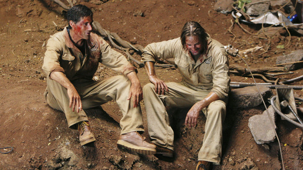 "LOST - ""LA X"" - ""Lost"" returns for its final season of action-packed mystery and adventure -- that will continue to bring out the very best and the very worst in the people who are lost -- on the season premiere of ""Lost,"" TUESDAY, FEBRUARY 2 (9:00-11:00 p.m., ET) on the ABC Television Network. On the season premiere episode, ""LA X"" Parts 1 & 2, the aftermath from Juliet's detonation of the hydrogen bomb is revealed. (ABC/MARIO PEREZ)MATTHEW FOX, JOSH HOLLOWAY"