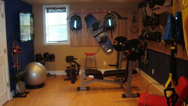 "EXTREME MAKEOVER HOME EDITION - ""Anders-Beatty Family,"" - Workout Room, on ""Extreme Makeover Home Edition,"" Sunday, October 12th on the ABC Television Network."