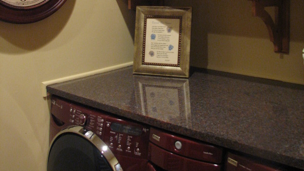"EXTREME MAKEOVER HOME EDITION - ""Tipton-Smith Family,"" - Laundry Room Detail, on ""Extreme Makeover Home Edition,"" Sunday, March 11th on the ABC Television Network."