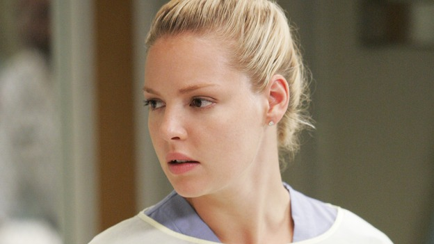 "GREY'S ANATOMY - ""INTO YOU LIKE A TRAIN"" (ABC/CRAIG SJODIN)KATHERINE HEIGL"