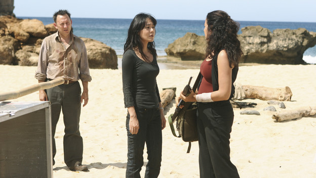 "LOST - ""The Substitute"" - Locke goes in search of help to further his cause, on ""Lost,"" TUESDAY, FEBRUARY 16 (9:00-10:00 p.m., ET) on the ABC Television Network. (ABC/MARIO PEREZ)MICHAEL EMERSON, YUNJIN KIM, ZULEIKHA ROBINSON"
