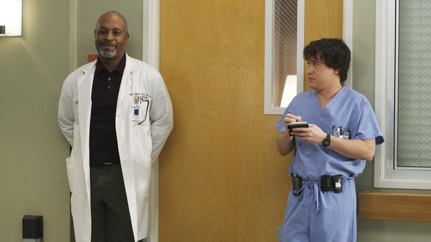 "GREY'S ANATOMY - ""It's the End of the World (As We Know It)""(ABC/KAREN NEAL)JAMES PICKENS, JR., T.R. KNIGHT"