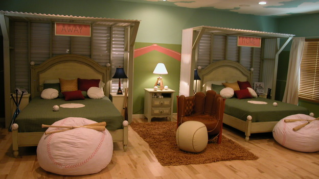 EXTREME MAKEOVER HOME EDITION - &quot;Arena Family,&quot; - Boy's Bedroom, on &quot;Extreme Makeover Home Edition,&quot; Sunday, May 14th on the ABC Television Network.