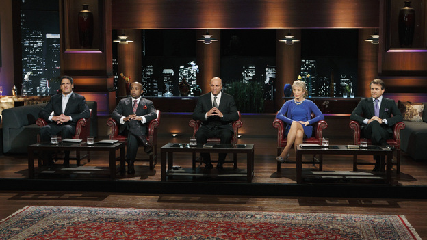 SHARK TANK - &quot;Episode 202&quot; - Season Two of &quot;Shark Tank&quot; promises to make TV history with the Sharks offering over $10 million in investment deals to bankroll a creative array of innovative entrepreneurs. This season, high tech billionaire entrepreneur Mark Cuban and successful comedian and self-made businessman Jeff Foxworthy jump into the Tank to appear separately in the show's nine episodes. The Season Premiere, &quot;Episode 202,&quot; airs FRIDAY, MARCH 25 (8:00-9:00 p.m., ET) on ABC. (ABC/CRAIG SJODIN)MARK CUBAN, DAYMOND JOHN, KEVIN O'LEARY, BARBARA CORCORAN, ROBERT HERJAVIC